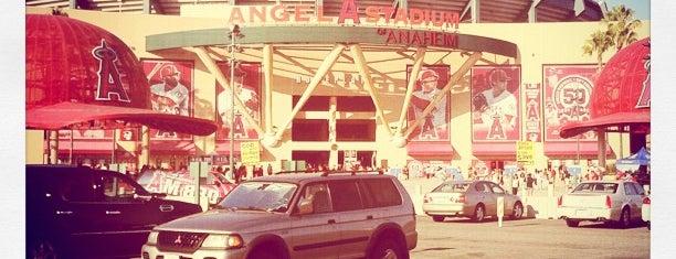 Angel Stadium of Anaheim is one of MLB Stadium Quest.