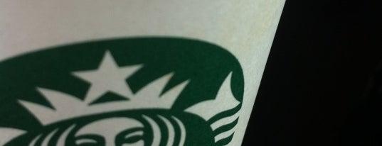 Starbucks is one of Bismarck Usuals.