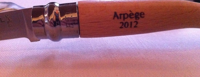 Arpège is one of 3* Star* Restaurants*.