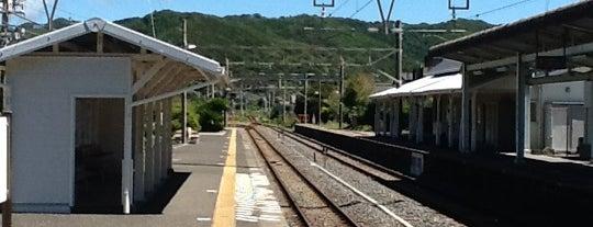 Awa-Kominato Station is one of JR 키타칸토지방역 (JR 北関東地方の駅).