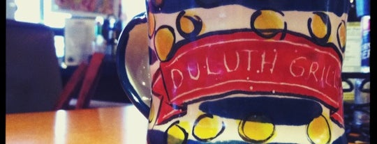 Duluth Grill is one of Diners, Drive-Ins & Dives 3.