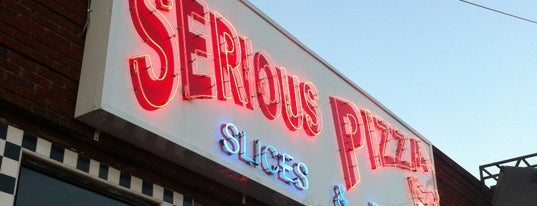 Serious Pizza is one of Dallas Observer.