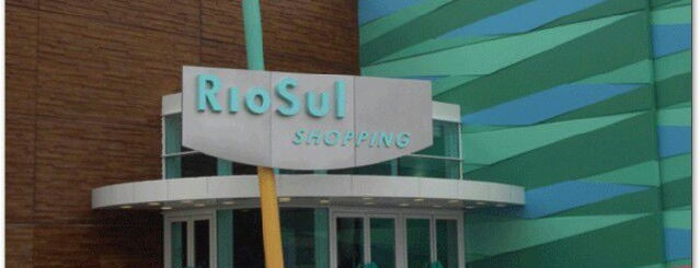 RioSul Shopping is one of Sonae Sierra Shopping Centers.