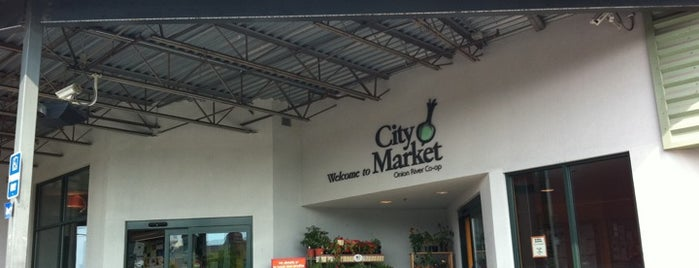 City Market (Onion River Co-op) is one of Burlington, Vermont.