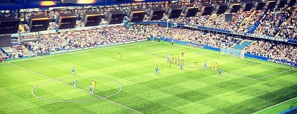 Stamford Bridge is one of Stadiums I've watched sport at.