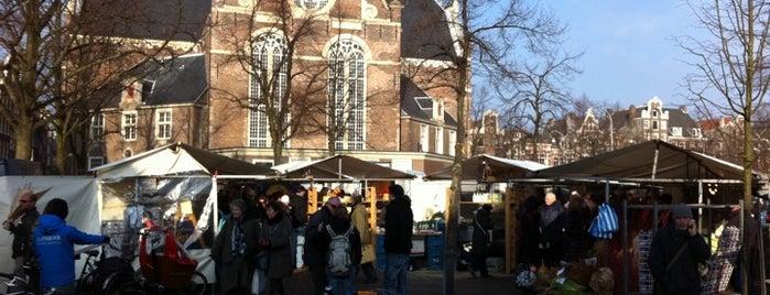 Noordermarkt is one of Monuments ❌❌❌.