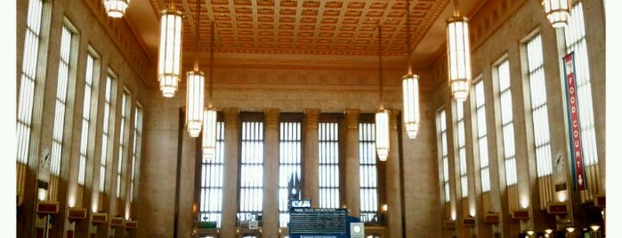 30th Street Station is one of New Jersey Transit Train Stations.