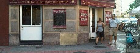 La Esquinita de Treviño is one of Tapas por Madrid.