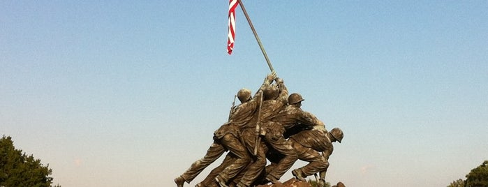 US Marine Corps War Memorial (Iwo Jima) is one of Places that are checked off my Bucket List!.