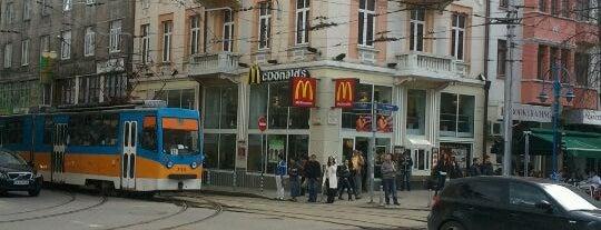 McDonald's is one of Lieux qui ont plu à Tekin.