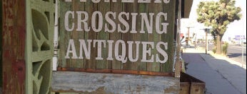 Pioneer Crossing Antiques is one of The Joshua Tree Field Guide.