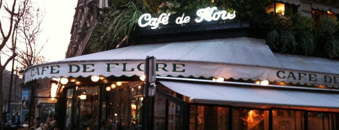 Café de Flore is one of Paris Eating.
