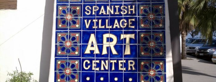 Spanish Village Art Center is one of Tempat yang Disukai Mayer.