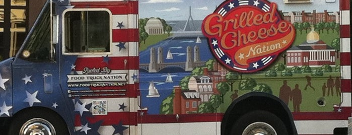 Grilled Cheese Nation Truck is one of Must-visit Food in Boston.