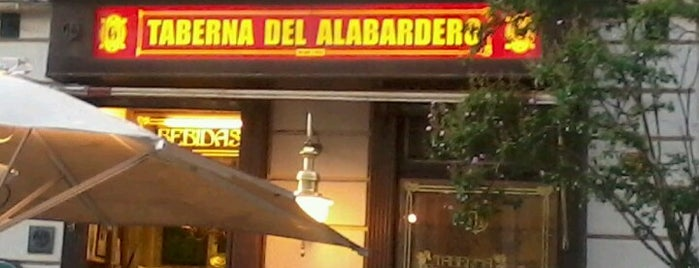 Taberna del Alabardero is one of Madrid.