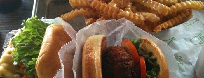Shake Shack is one of Mo's NYC Burger Picks.