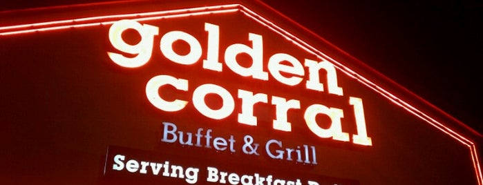 Golden Corral is one of favorites 1.