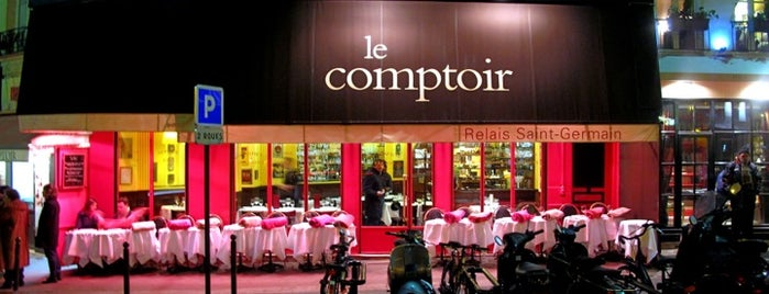 Le Comptoir du Relais is one of Spencer'in Kaydettiği Mekanlar.