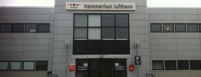 Hammerfest Lufthavn (HFT) is one of Airports I've been to.