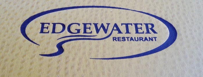 Edgewater Restaurant is one of Tempat yang Disukai Nick.