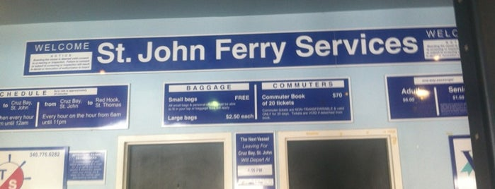 St. Thomas - St. John Ferry is one of Honeymoony.