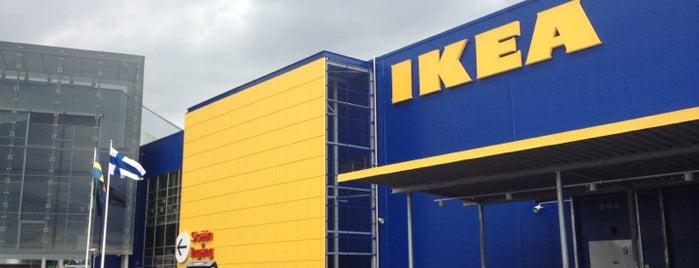 IKEA is one of Matkus Shopping Center.