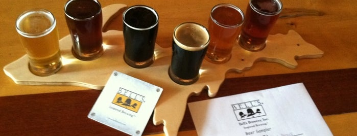 Bell's Eccentric Cafe & General Store is one of Michigan Breweries.