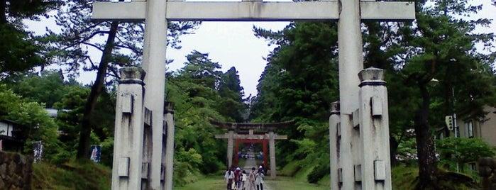 岩木山神社 is one of Tempat yang Disukai 西院.