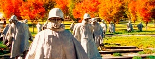 Korean War Veterans Memorial is one of IWalked WashDC's National Mall (Self-guided Tour).