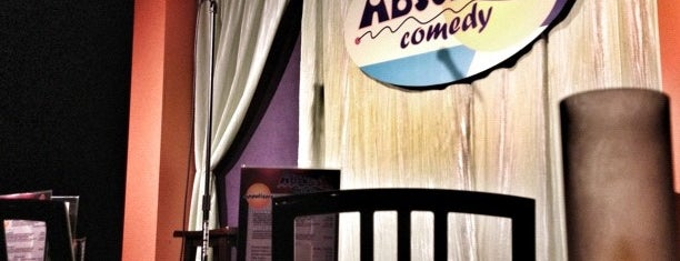 Absolute Comedy is one of Miles's Saved Places.