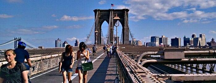 ブルックリンブリッジ is one of Top 10 favorites places in New York, NY.