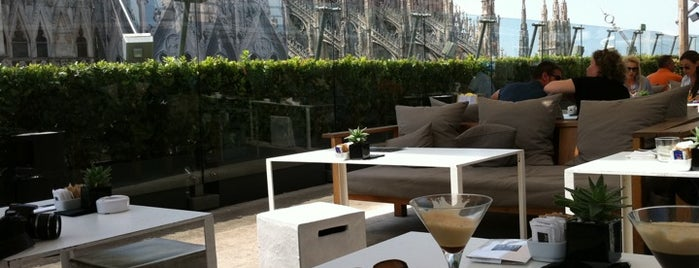 La Terrazza is one of Milan - in the day.