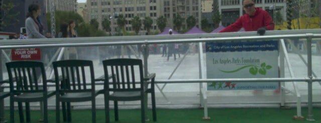 Downtown on Ice is one of LA Outings.