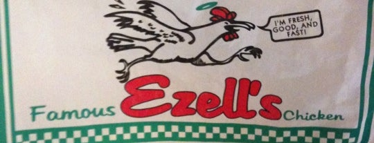 Ezell's Famous Chicken is one of David Kさんの保存済みスポット.