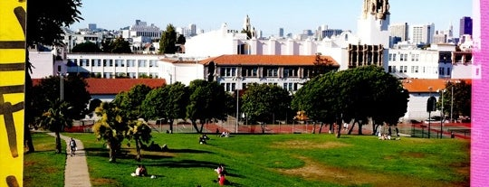 Mission Dolores Park is one of Must-visit Parks in San Francisco.
