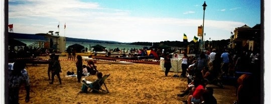 Bournemouth Beach is one of The Ultimate Student Guide to Bournemouth.