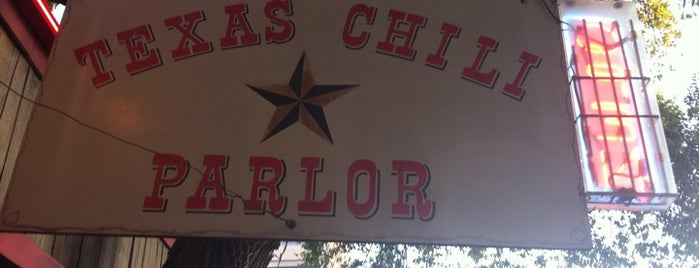 Texas Chili Parlor is one of Best Places to Check out in United States Pt 5.