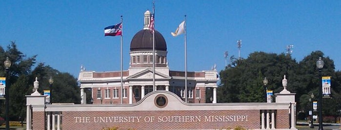 The University of Southern Mississippi is one of College Love - Which will we visit Fall 2012.