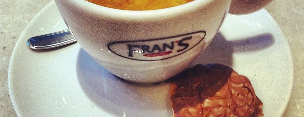 Fran's Café is one of Feitos, realizados, experimentados, done.