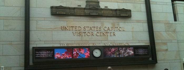 U.S. Capitol Visitor Center is one of Cultural - Washington DC.