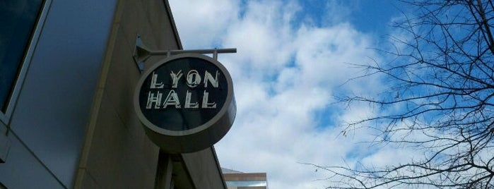 Lyon Hall is one of Best Places DC/Metro Area Part 1.