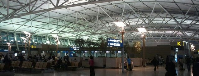 Bandar Udara Internasional Incheon (ICN) is one of Airports of the World.