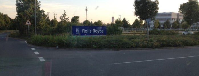 Rolls-Royce Deutschland is one of Sarahさんのお気に入りスポット.
