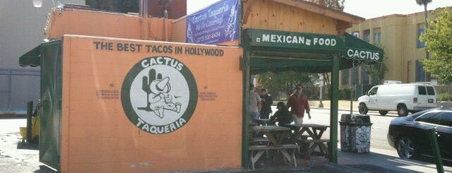 Cactus Taqueria is one of LA's To do list.