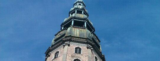 Церковь Святого Петра is one of Places to visit: Riga.