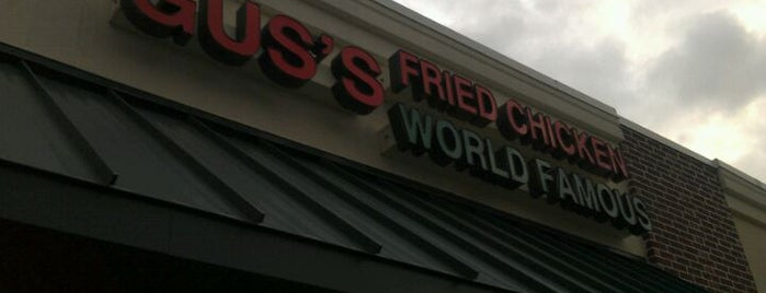 Gus's World Famous Fried Chicken is one of Memphis Most Winners!.