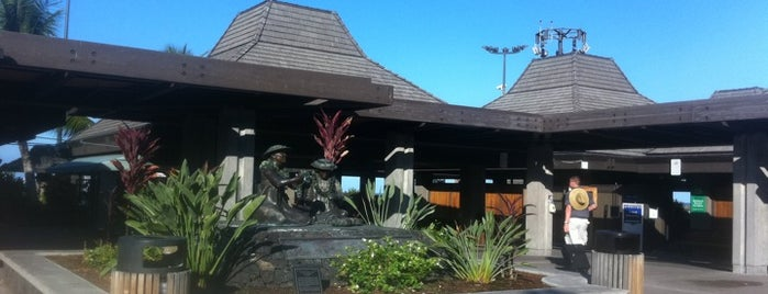 Kona International Airport (KOA) is one of Airports Visited.