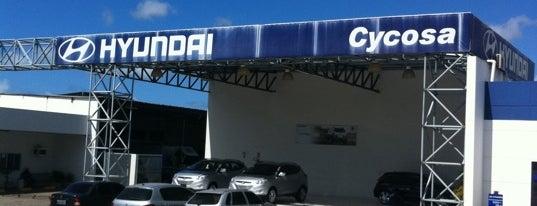 Hyundai Cycosa is one of Tempat yang Disukai Maria Bernadete.