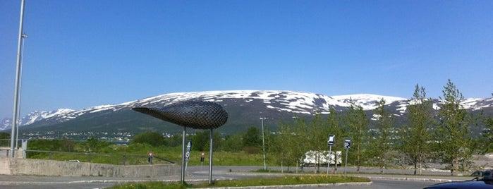 Tromsø Lufthavn, Langnes (TOS) is one of Airports - Europe.