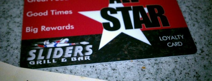 Sliders Grill & Bar is one of Man vs Food CT.